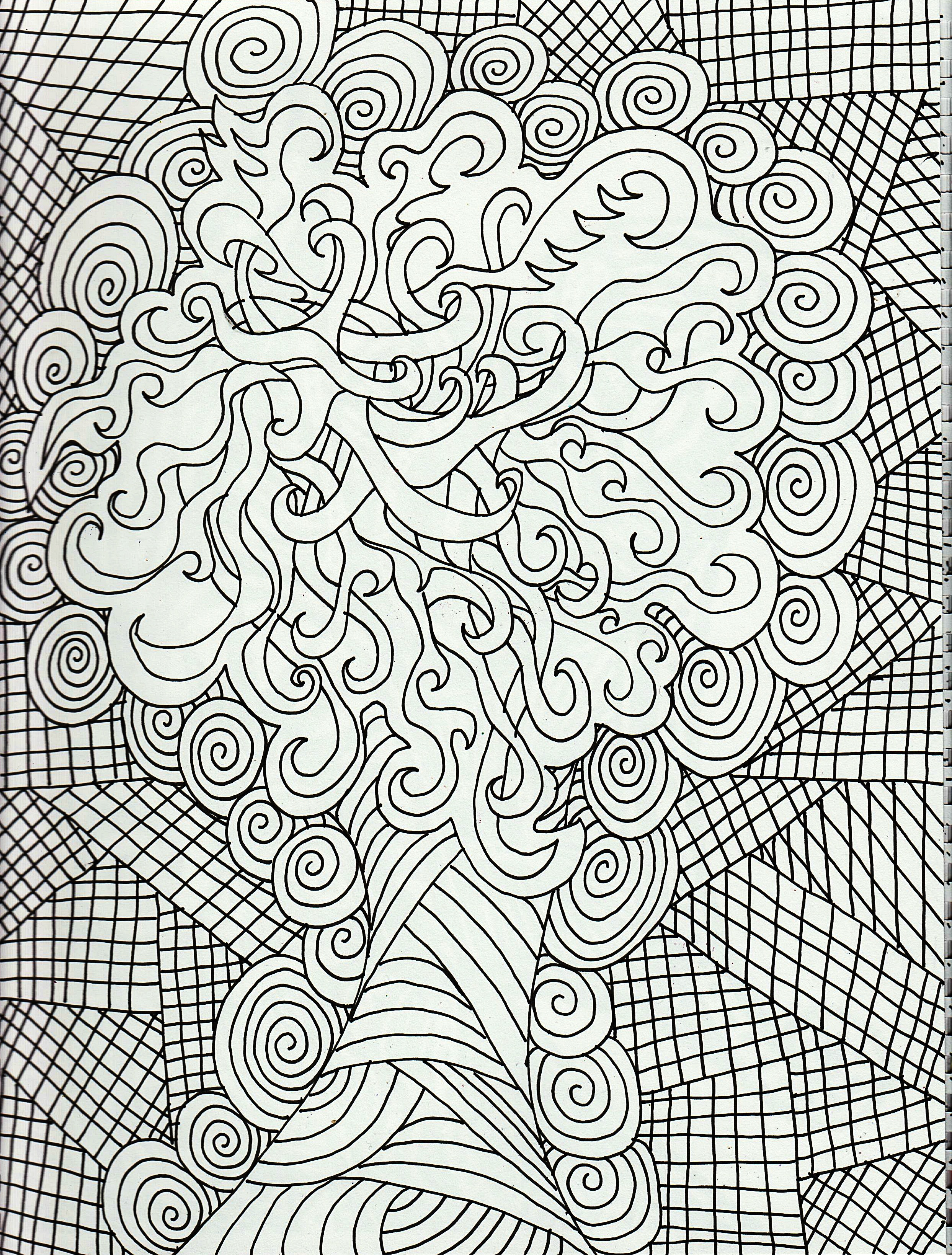 coloring pages for adults adults also can color the white 2487x3279