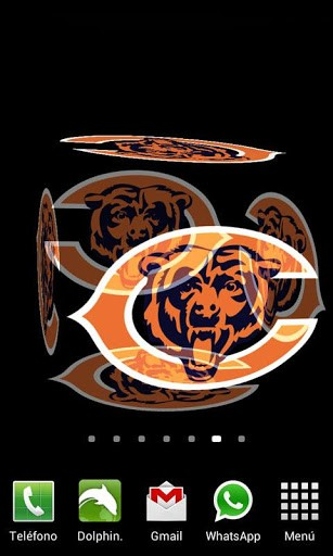 View bigger   3D Chicago Bears Wallpaper for Android screenshot 307x512