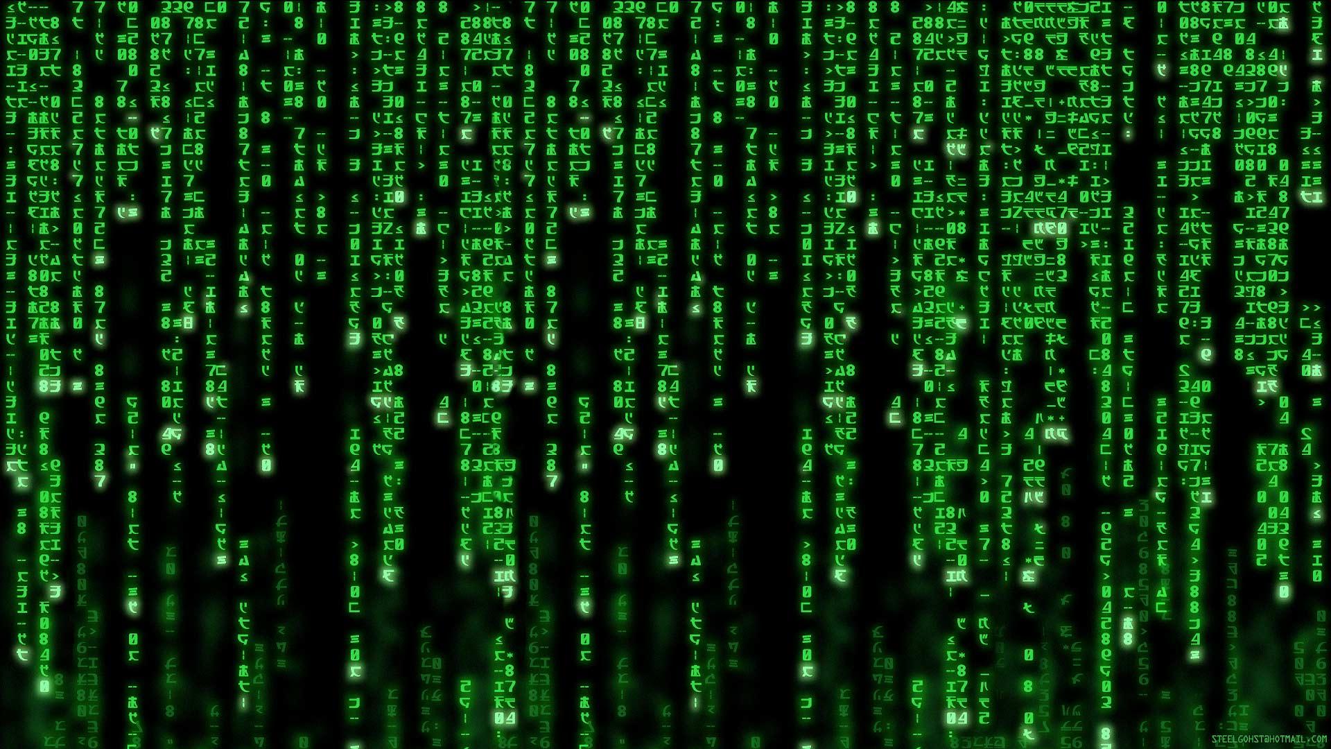 wallpaper matrix programming 1920x1080 1920x1080