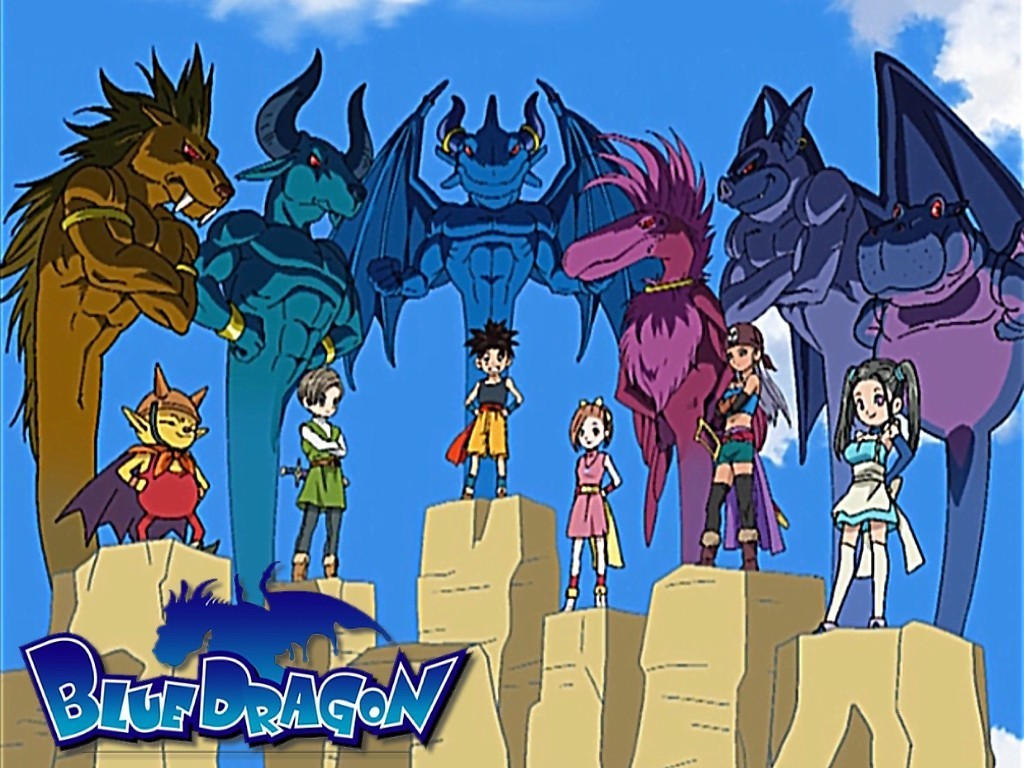 Blue Dragon Anime Wallpaper   Wallpapers And Pictures 1024x768