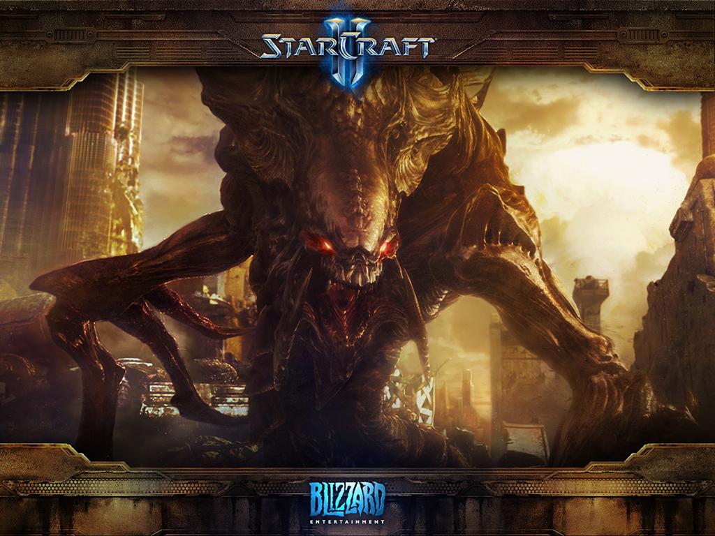 StarCraft II wallpaper   Starcraft Wallpaper 32167563 1024x768