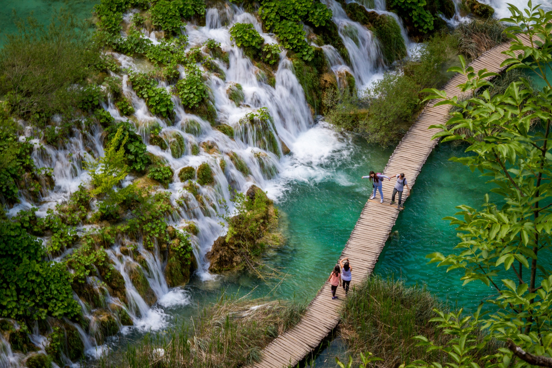 Plitvice Lakes National Park Croatia Wallpaper HD 27360   Baltana 1920x1280