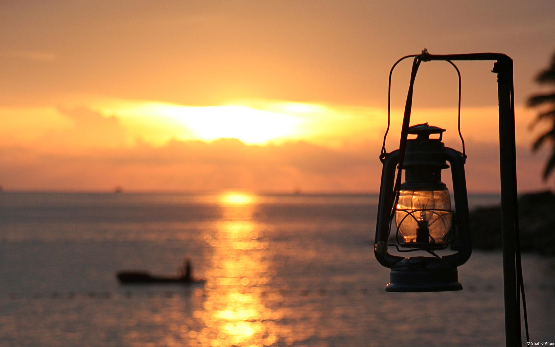 Sunset on Panaji Beach Goa India 1920x1200