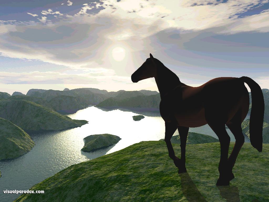 Group Tag wallpapers Group Horses Animal Art Water Free Desktop