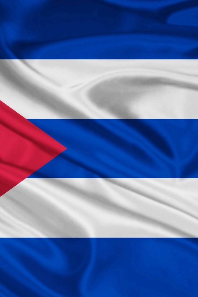 640x960 Cuba Flag Iphone 4 wallpaper 640x960