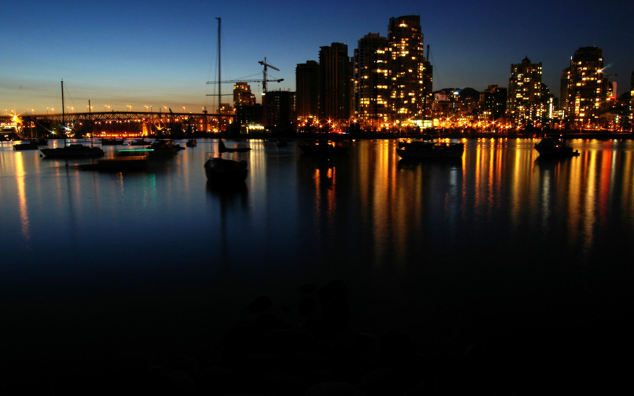 Vancouver Desktop Wallpapers for HD Widescreen and Mobile 2560x1600