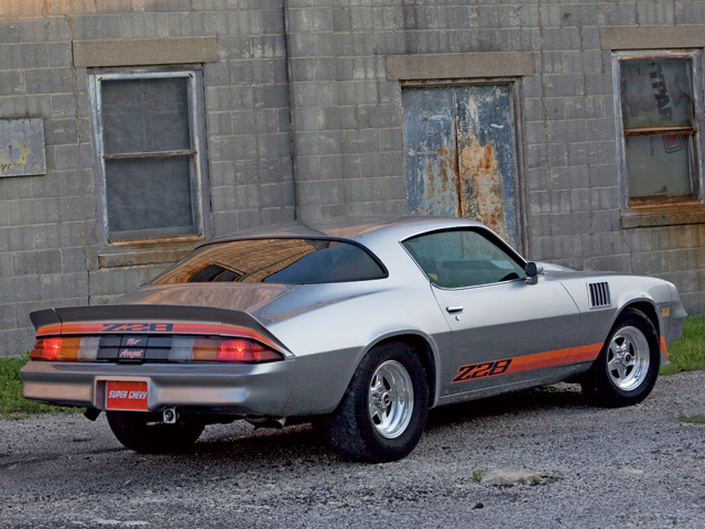 1979 Chevy Camaro Z28 Rear View 640x480