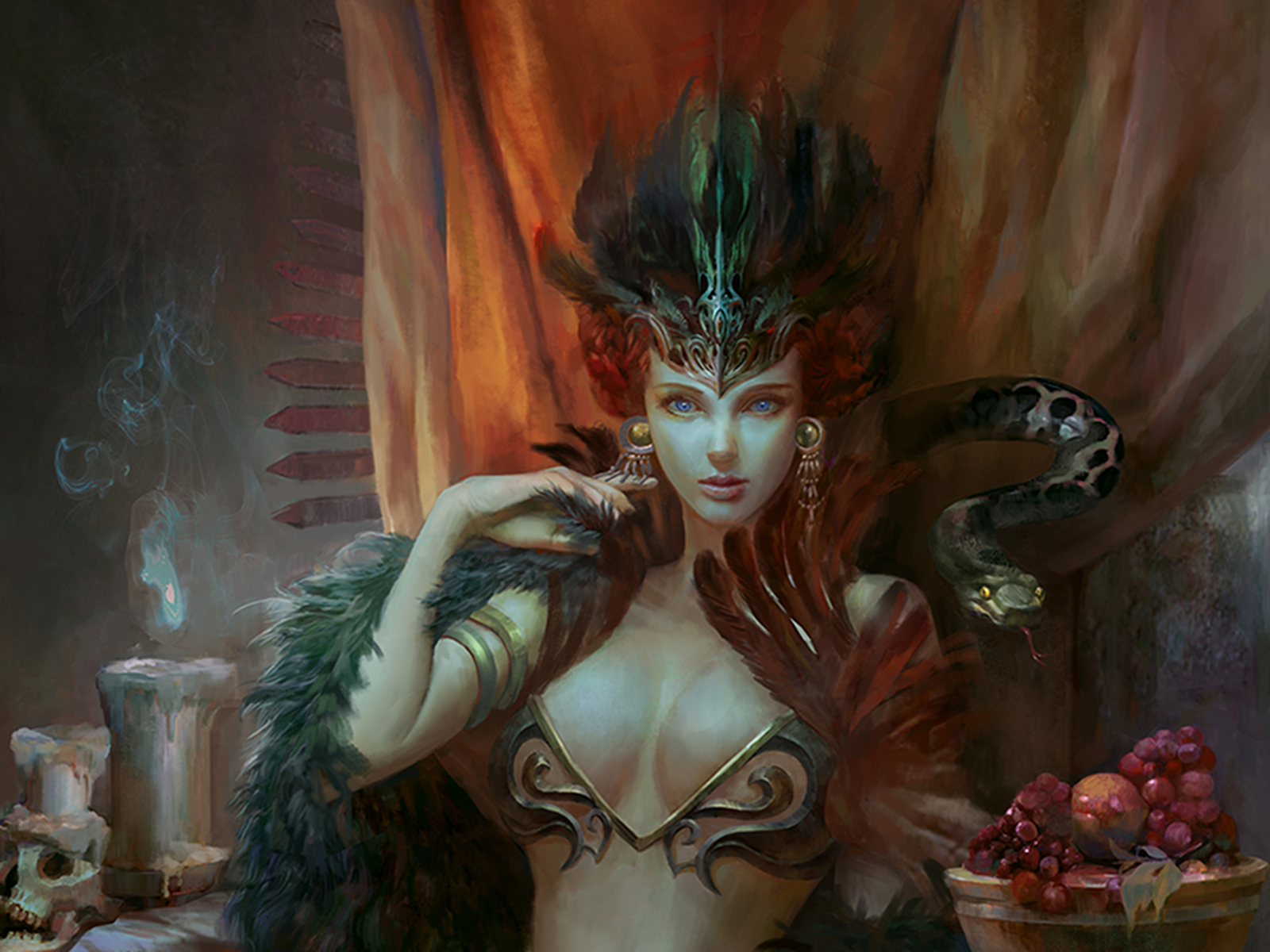 Persephone daughter of Zeus Wallpaper and Background Image 1600x1200