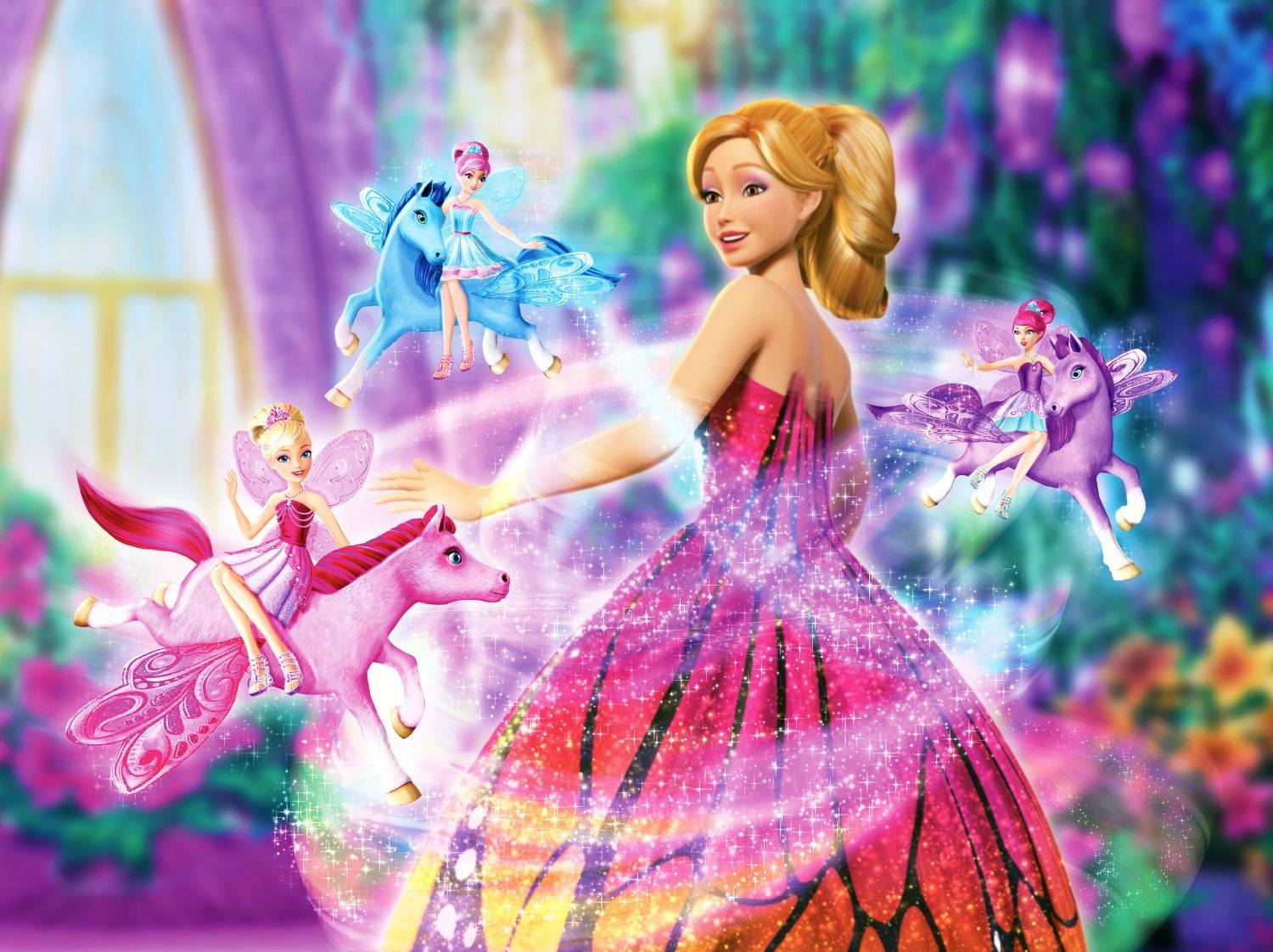 Hd wallpaper doll - Barbie Mariposa And The Fairy Princess Wallpaper 2 Barbie Dolls