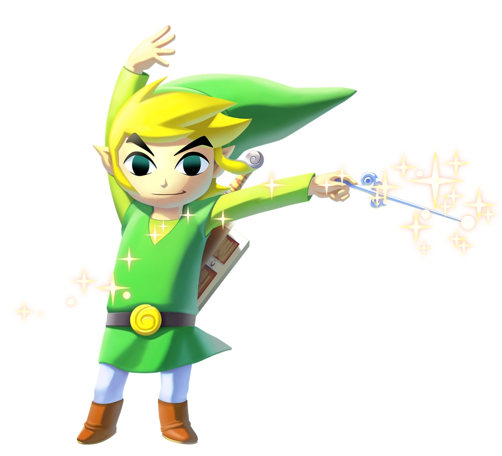 Legend of Zelda The Wind Waker HD Washes Ashore in a Wii U Tingle 1000x909