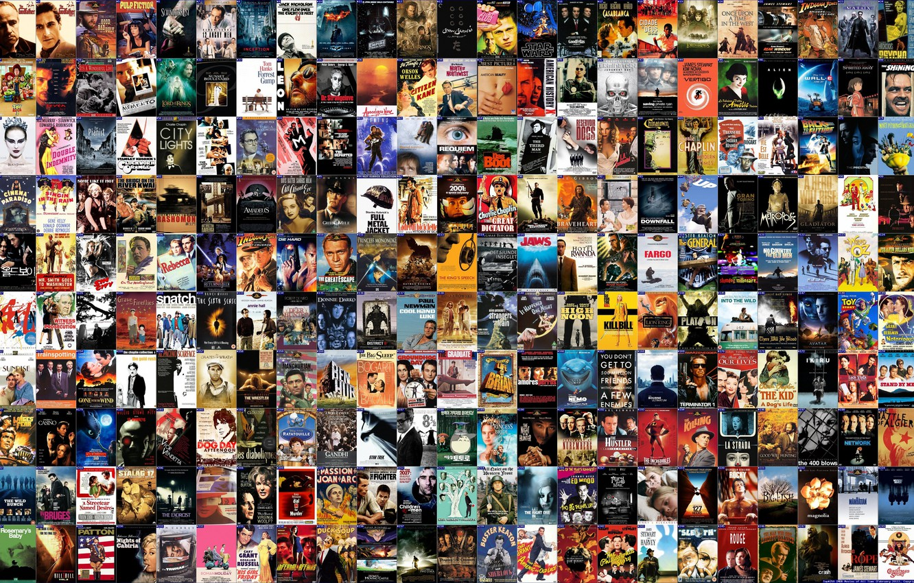 Wallpaper Movie Film Poster Top 250 movies images for desktop 1332x850