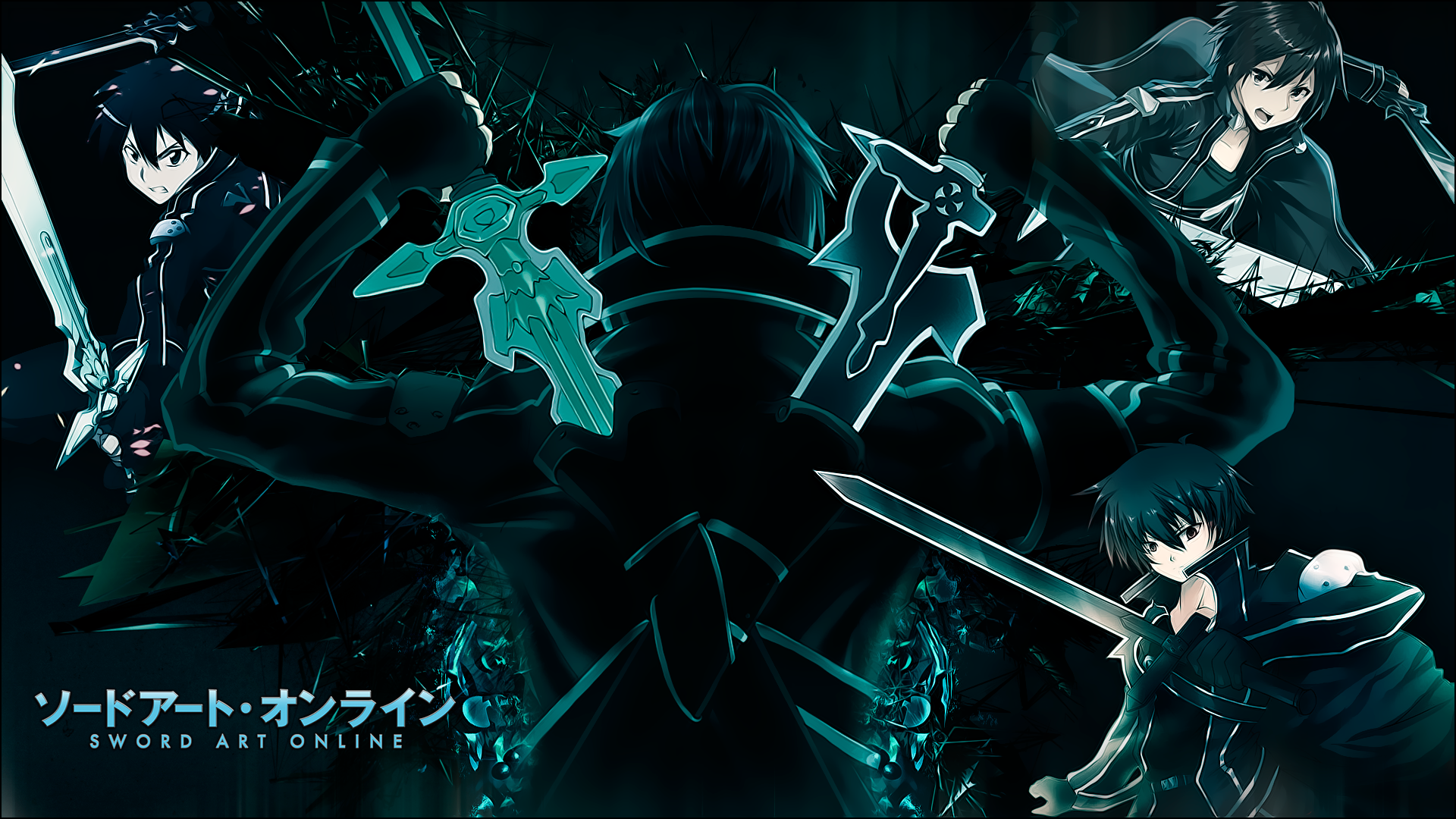 Kirito   SAO Wallpaper by JuaNegro 1920x1080