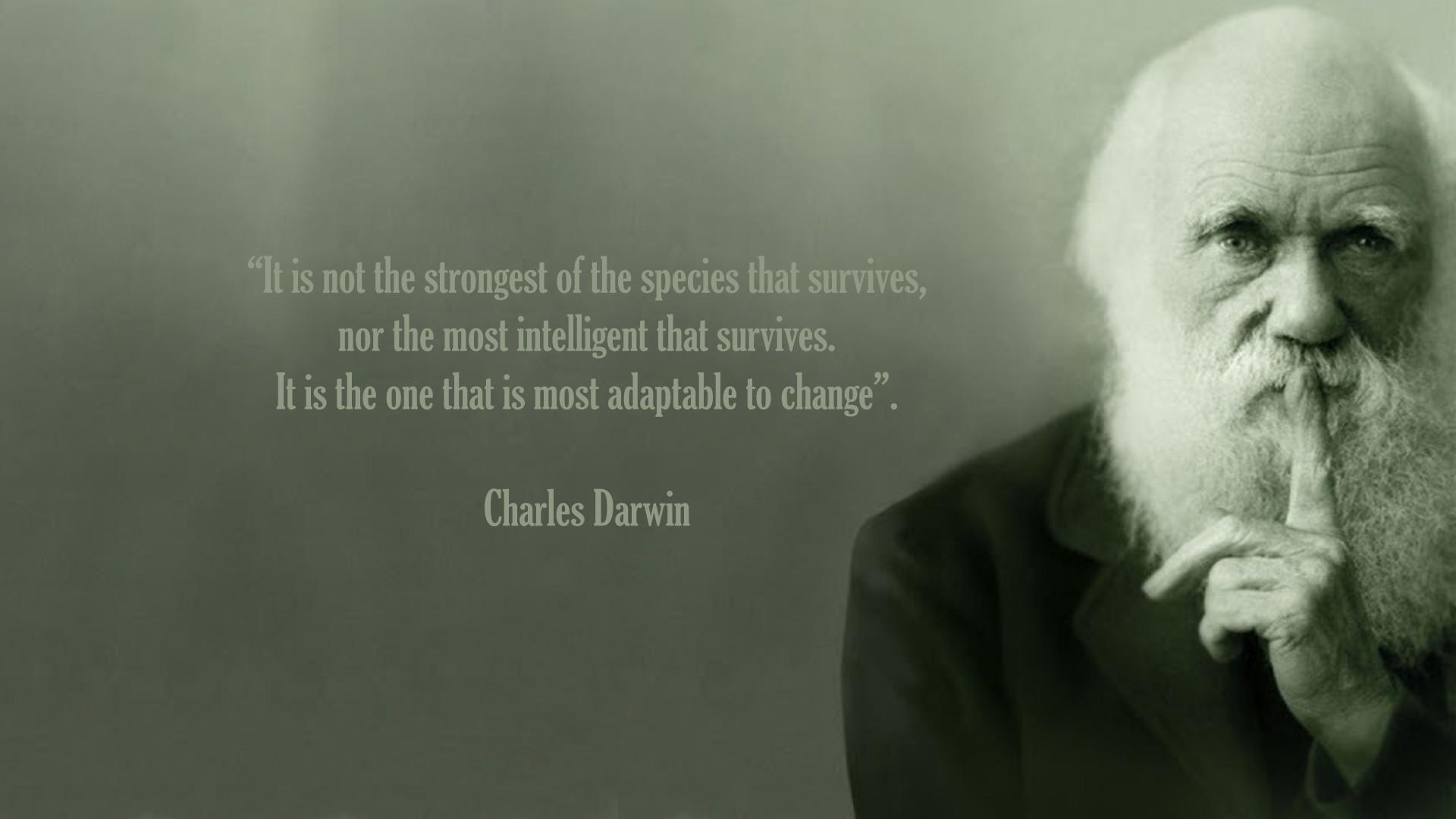Charles Darwin Change Quote Charles Darwin Wallpapers 61 1920x1080