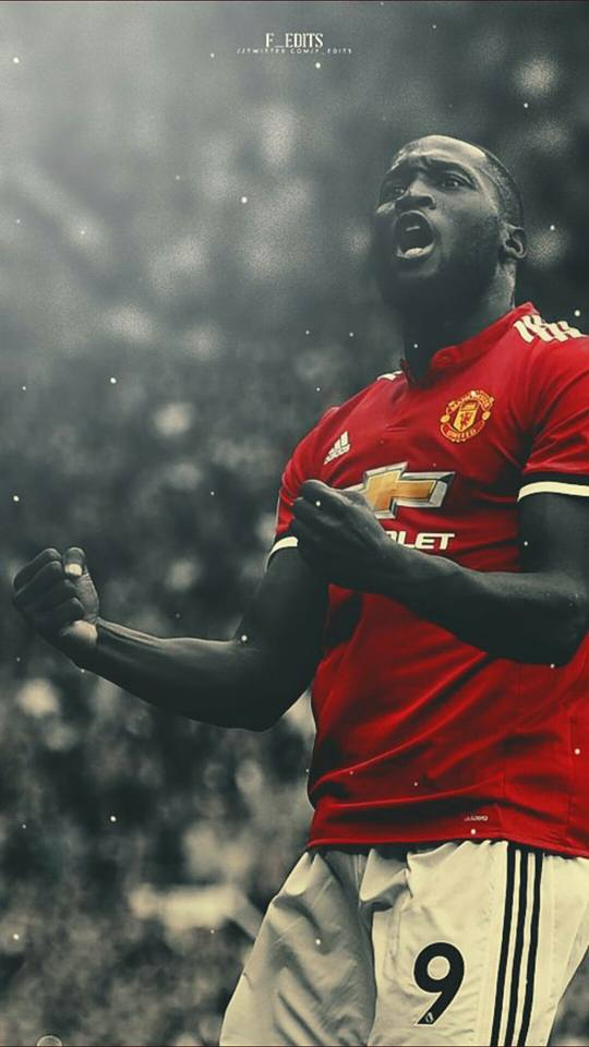 Lukakus Wallpapers from today AI MUPS   Manchester United 540x960