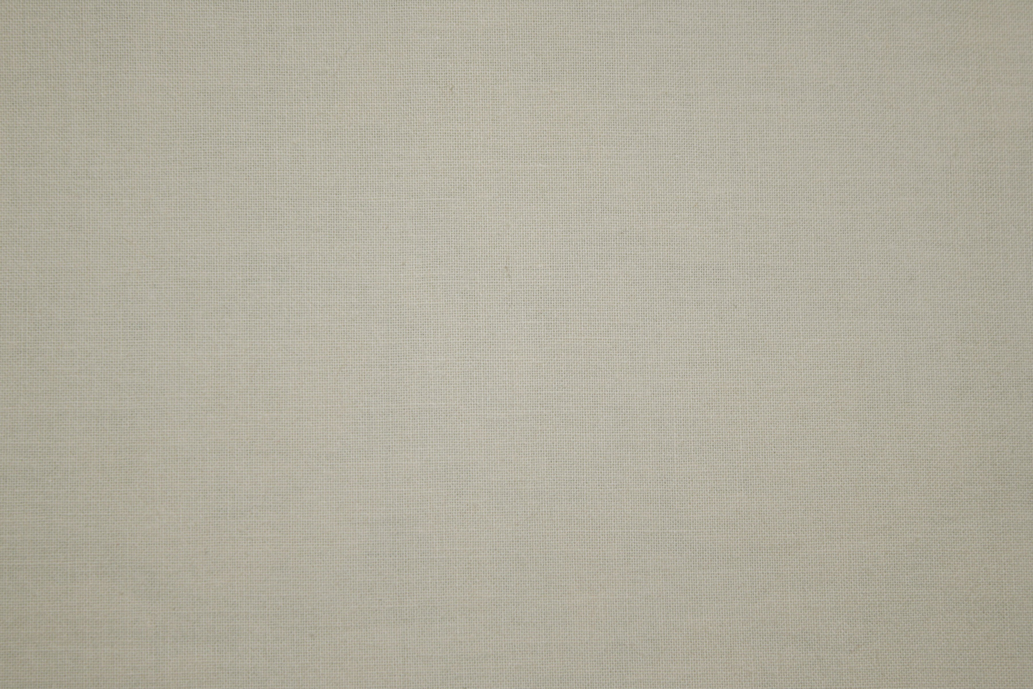 Off White or Ivory Colored Canvas Fabric Texture Picture 3600x2400