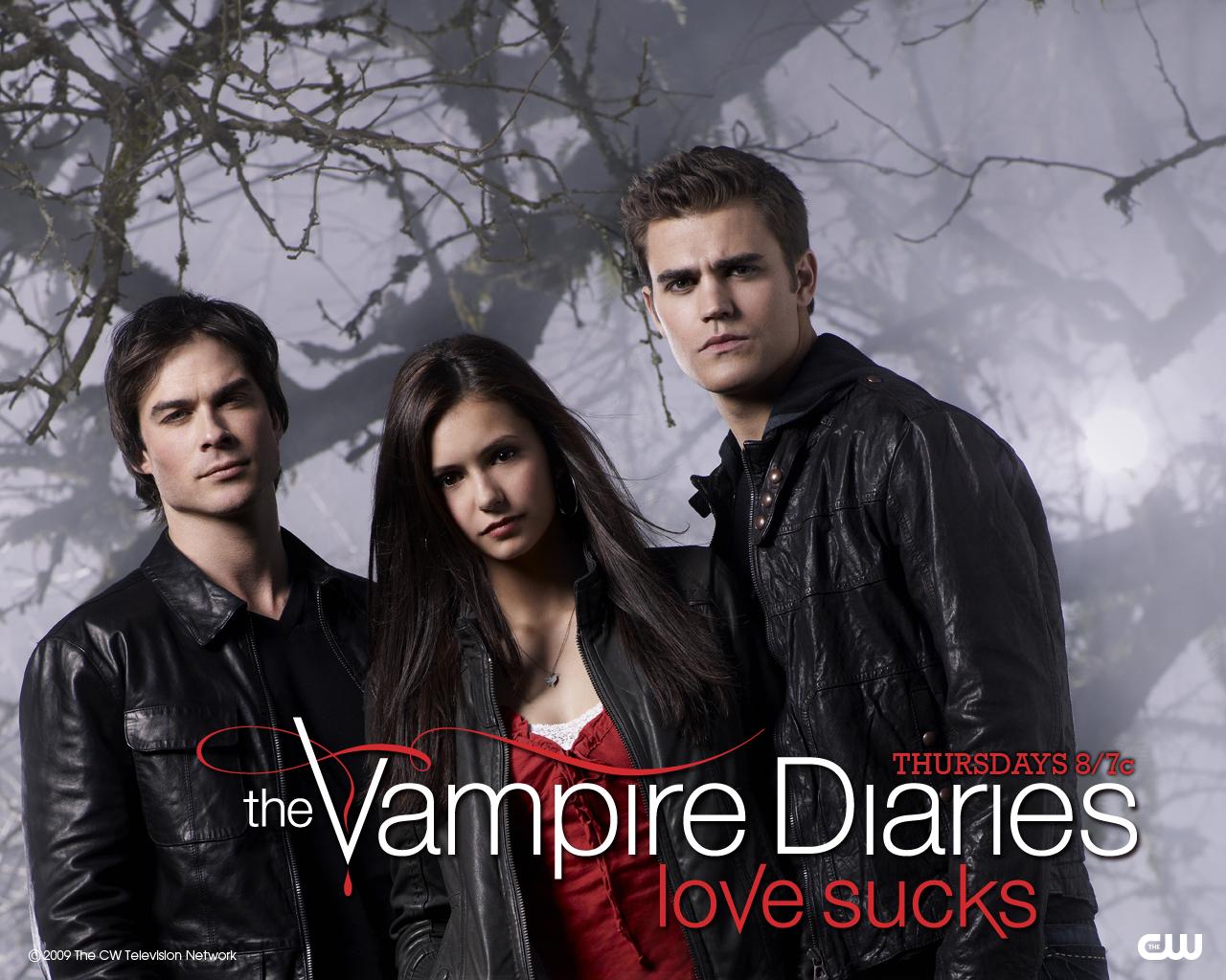 The Vampire Diaries Blm Rehberi Tantm Wallpaper Kadro 1280x1024