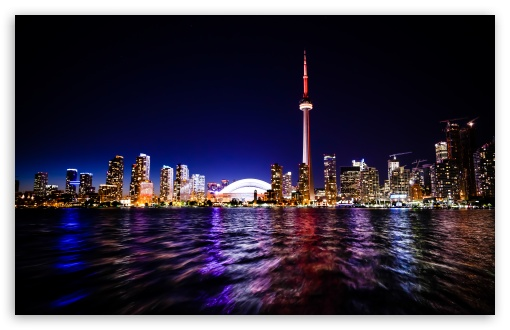 Downtown Toronto HD wallpaper for Standard 43 54 Fullscreen UXGA XGA 510x330