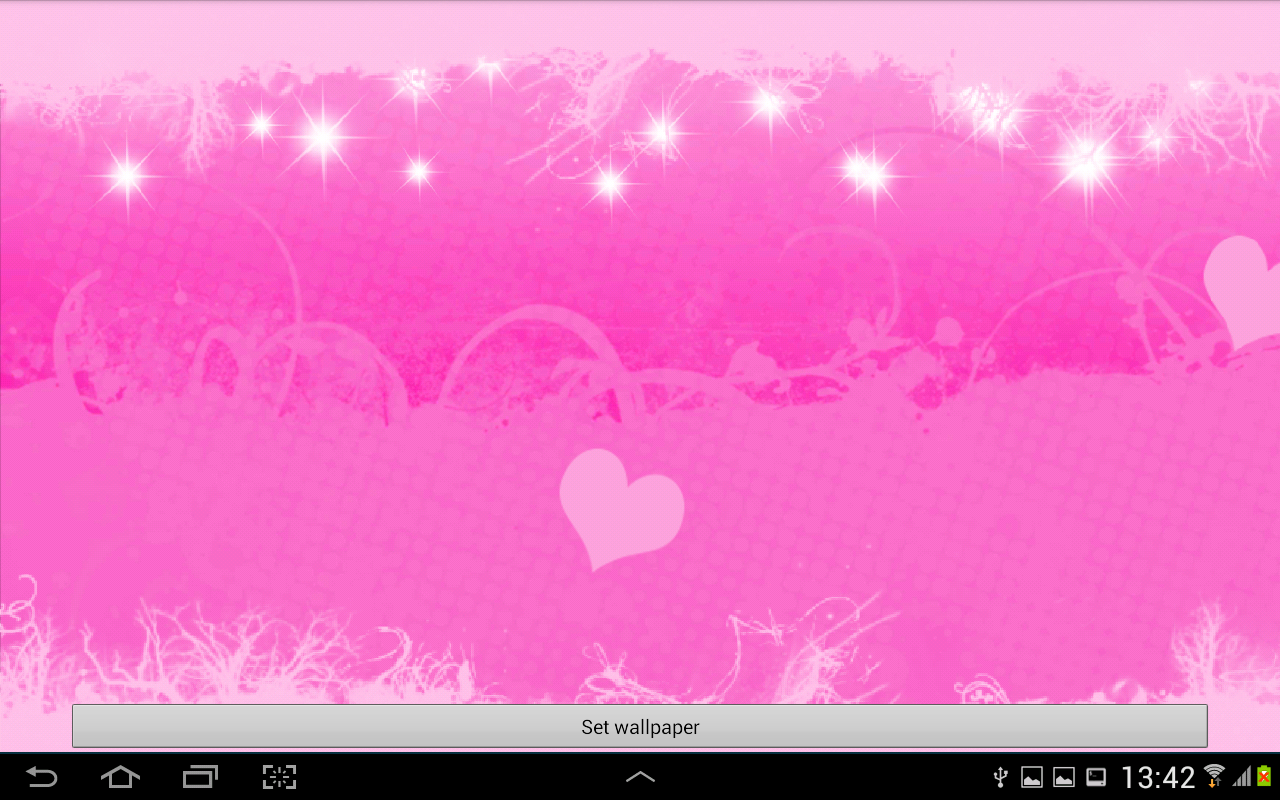 Pink Hearts Live Wallpaper   Android Apps on Google Play 1280x800