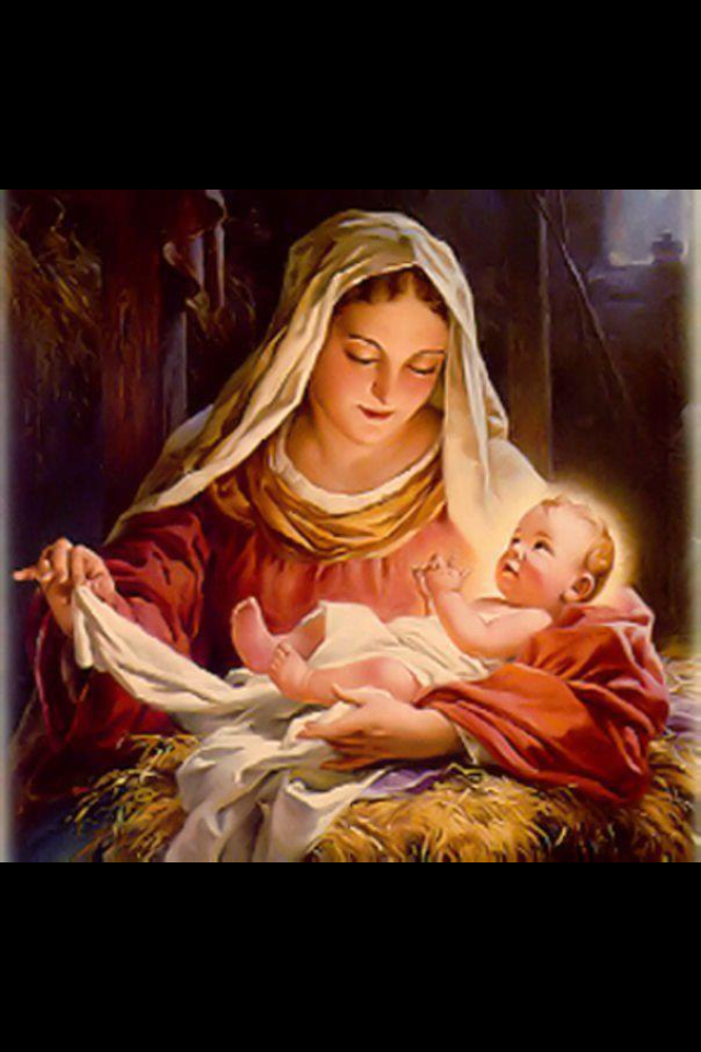 640x960px Mother Mary And Baby Jesus Wallpapers Wallpapersafari