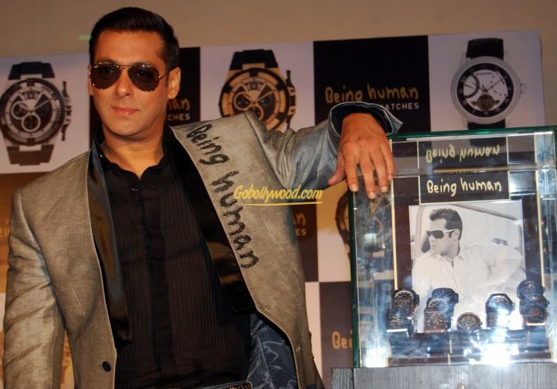 Salman Khan 3 Being Human Watches Launch 800x559