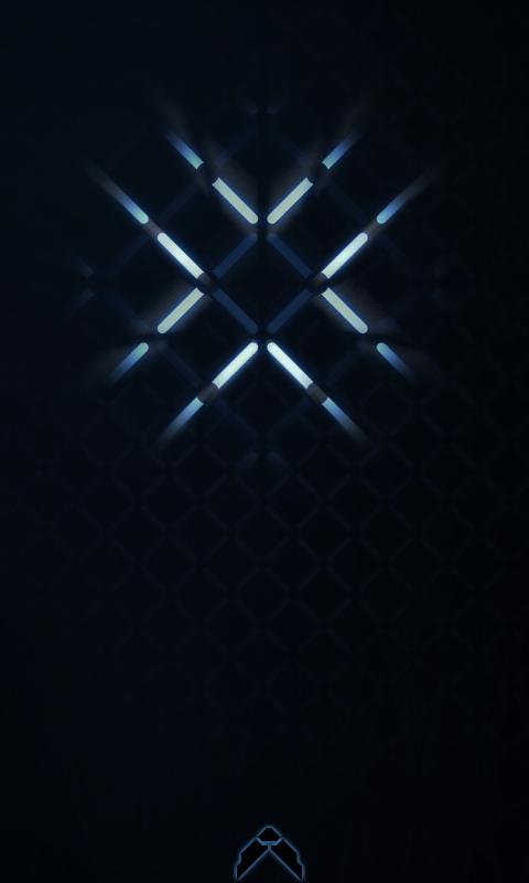 Windows phone 7 wallpaper DOT by Knightmaere77 480x800