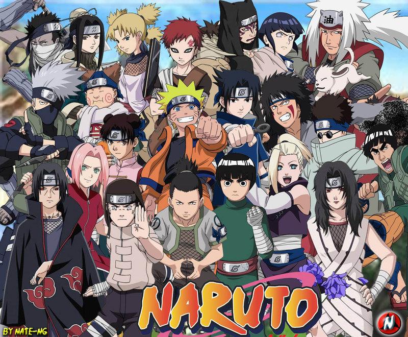 Wallpapers of naruto characters wallpapersafari - All naruto characters ...