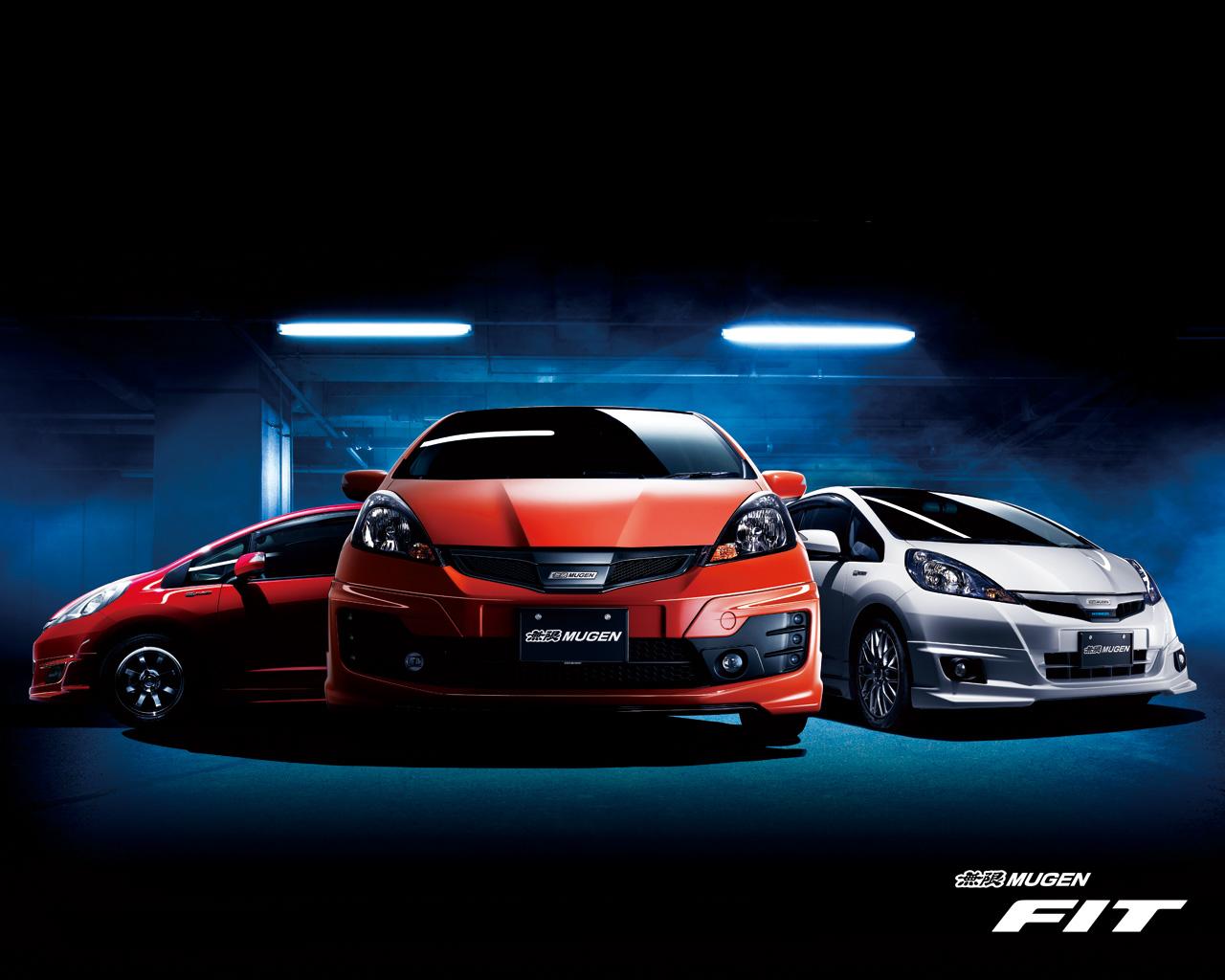 Japanese Tuning cars   Mugen Fit   Honda wallpapers 1280x1024