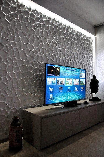 Textured wall coverings   Modern   Wallpaper   other metro   by 424x640