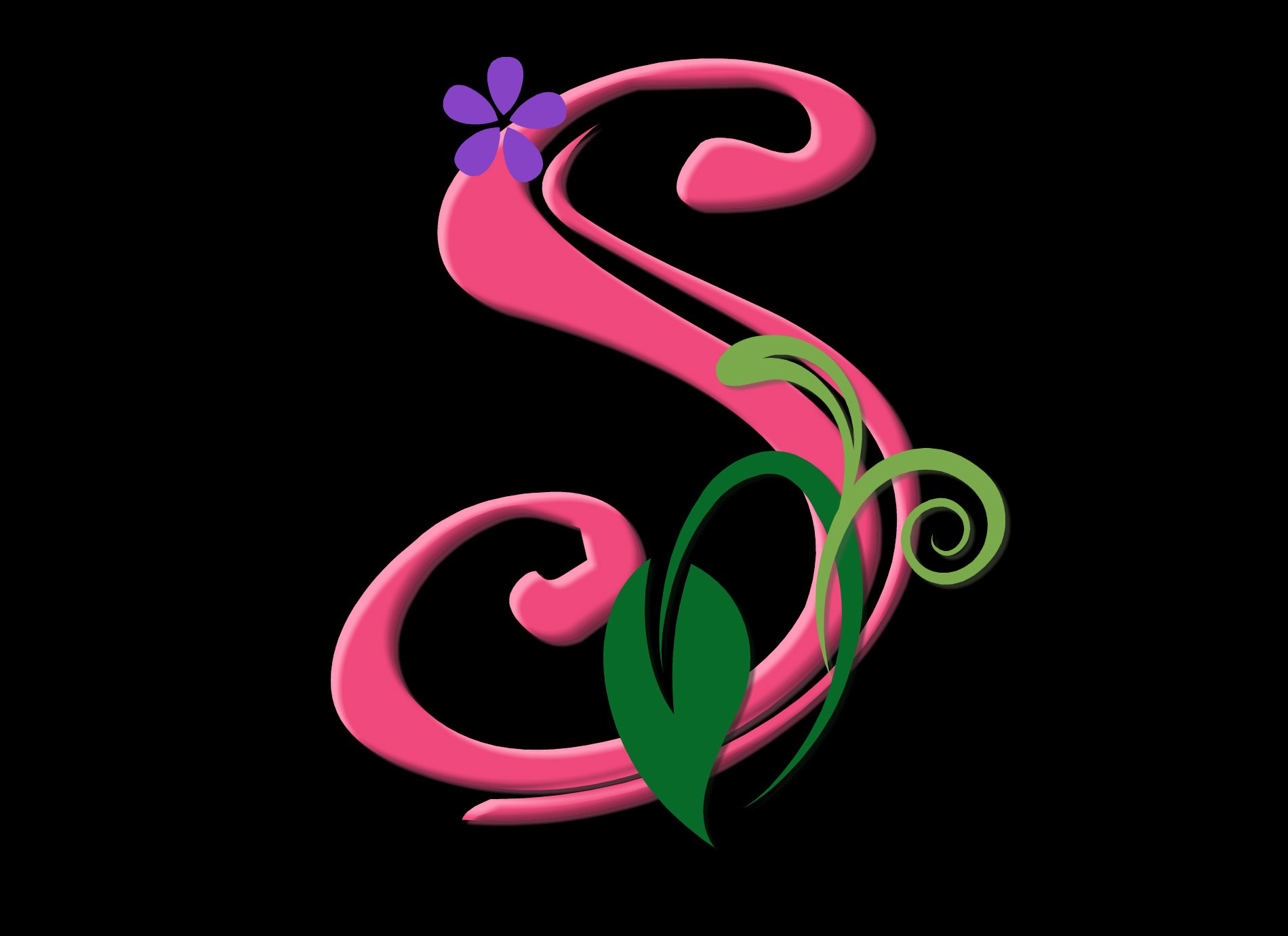 S S Letter In Love Wallpapers S Letter Wallpa...