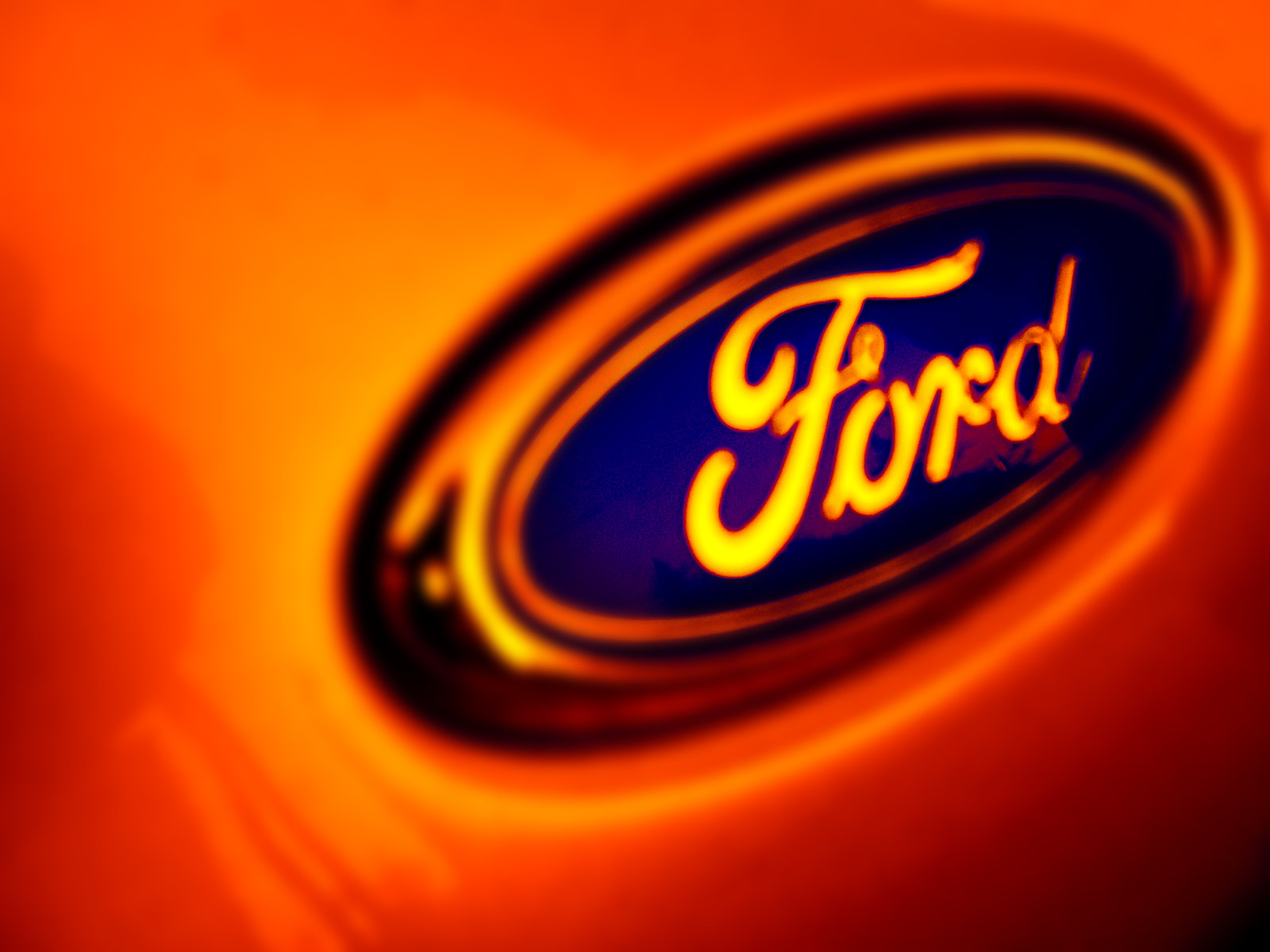 Ford Emblem Wallpaper Wallpapersafari