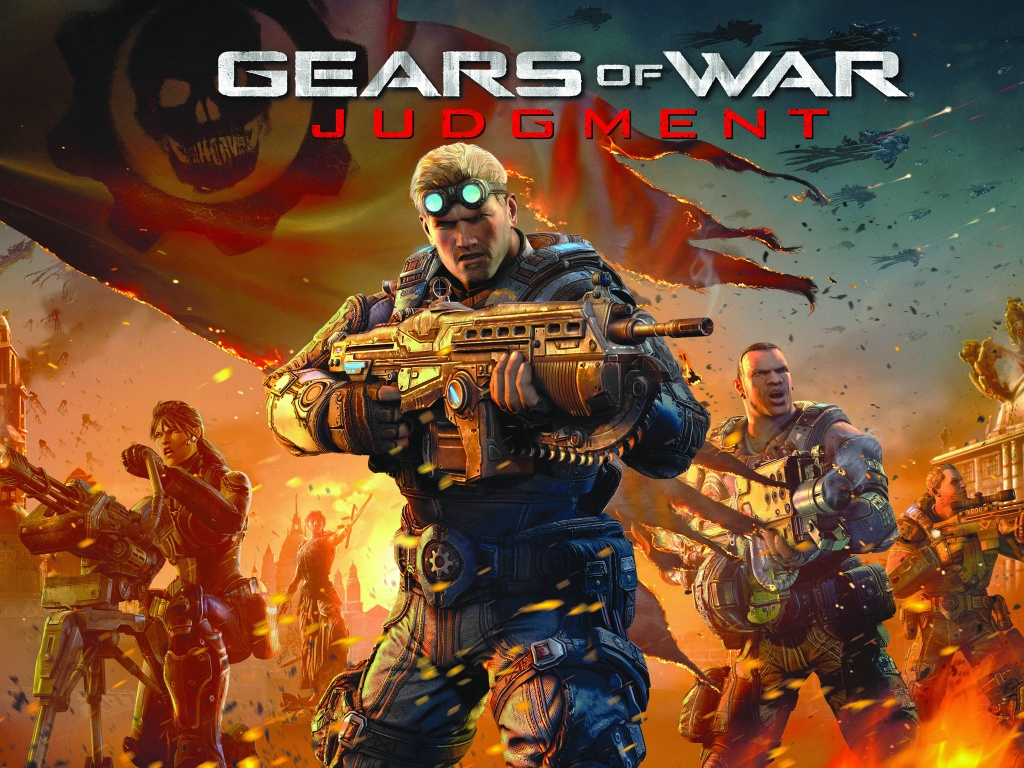 Gears of War Judgment 2013 Wallpapers HD Wallpapers 1024x768