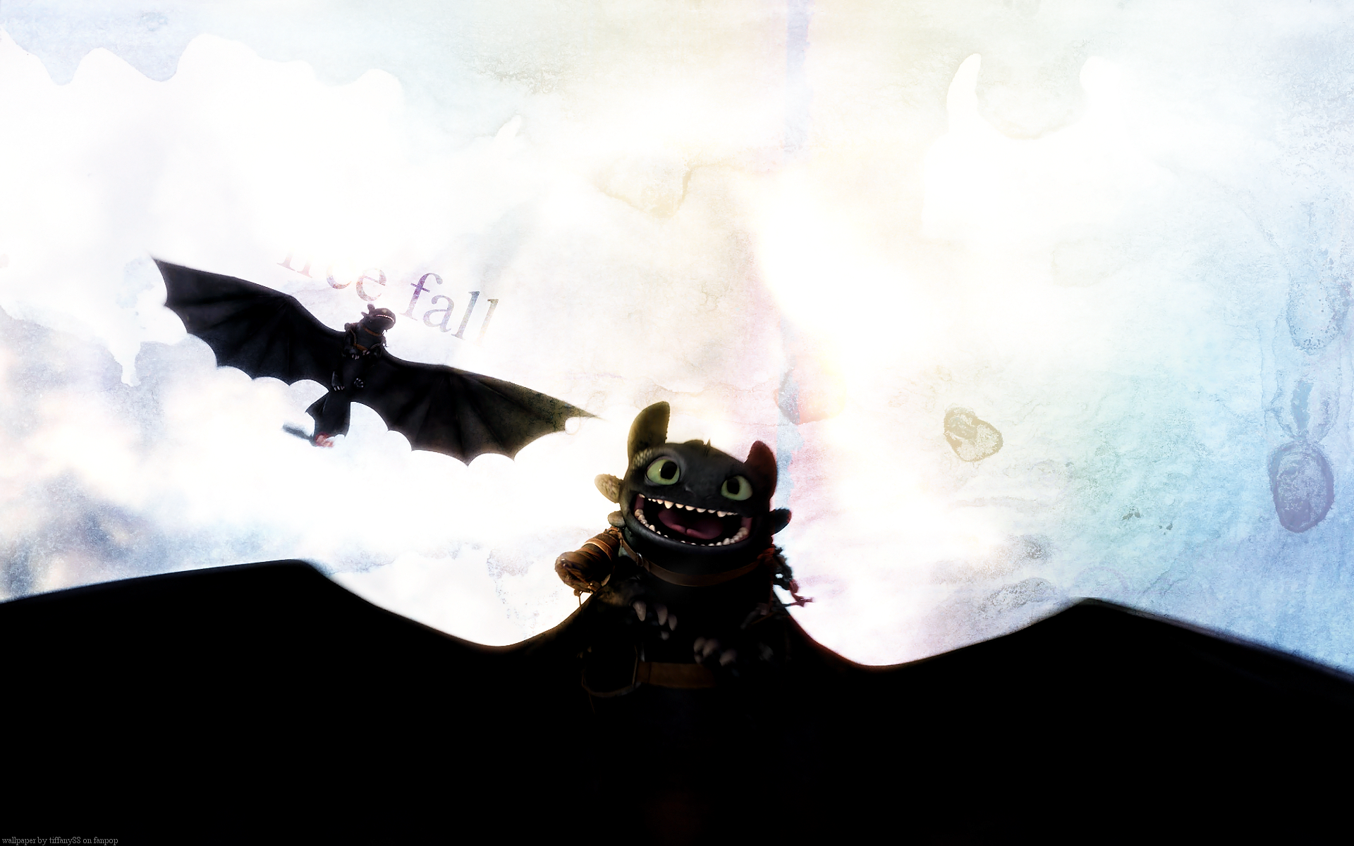 Toothless   HQ wallpaper   How to Train Your Dragon 1920x1200