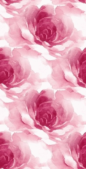 iPhone Wallpaper gorgeous watercolor rose print backgrounds 360x702