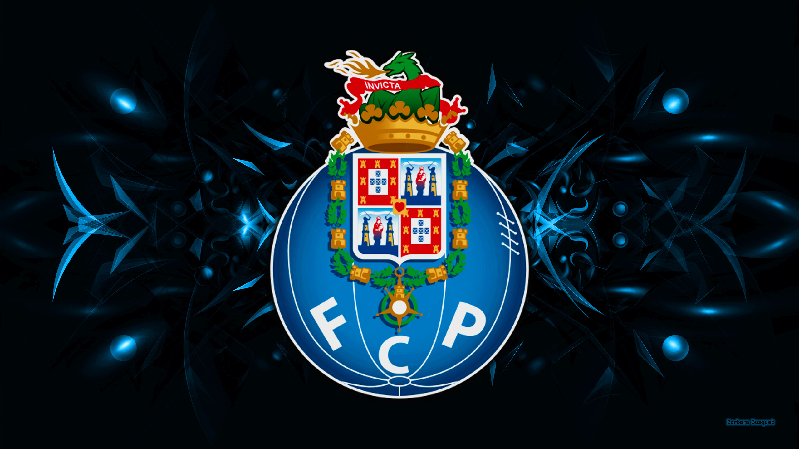 FC Porto logo wallpapers   Barbaras HD Wallpapers 2560x1440