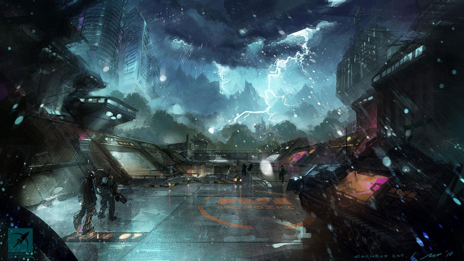 Sci fi Wallpaper of the week 39   Concept art Sci fi Videogames 1600x900