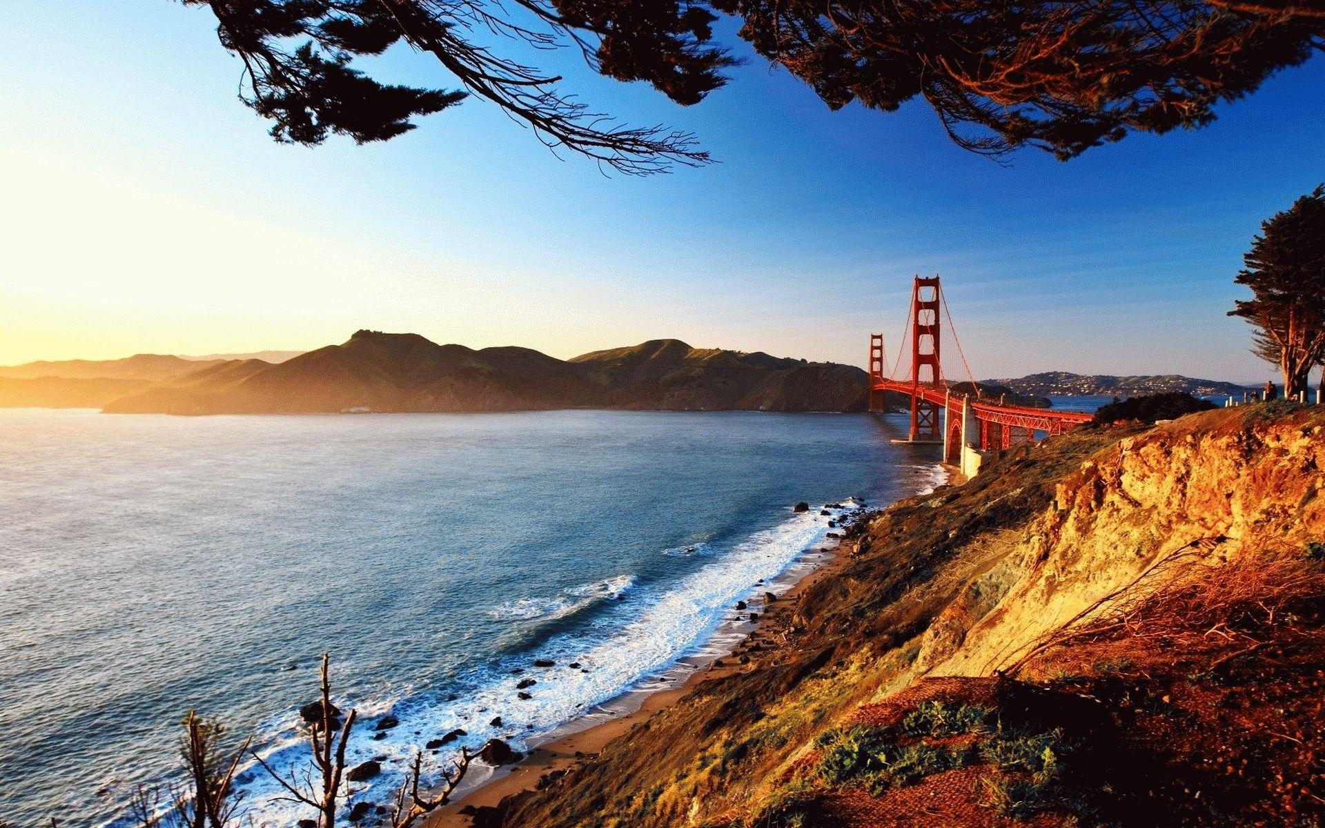 San Francisco Full HD Background Picture Image 1920x1200