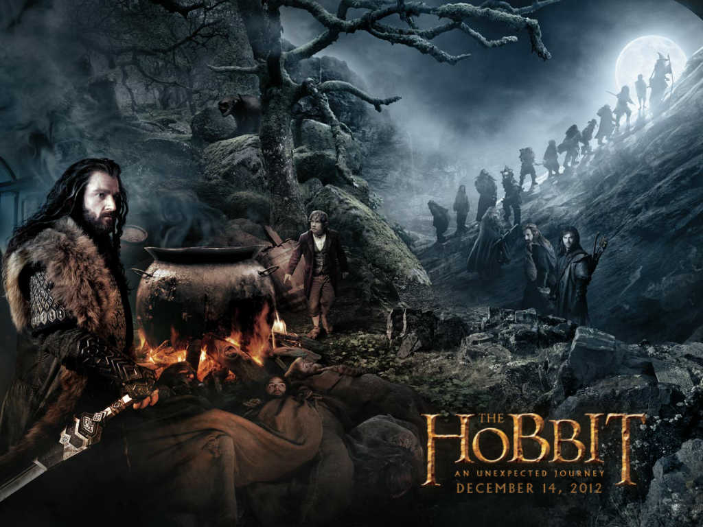 Meu Cantinho Literrio O Hobbit Uma Viagem Inesperada wallpaper 1024x768
