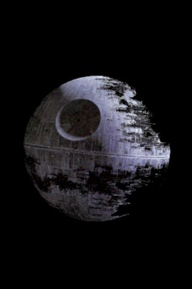 View Full Size More star wars death star iphone wallpaper background 640x960