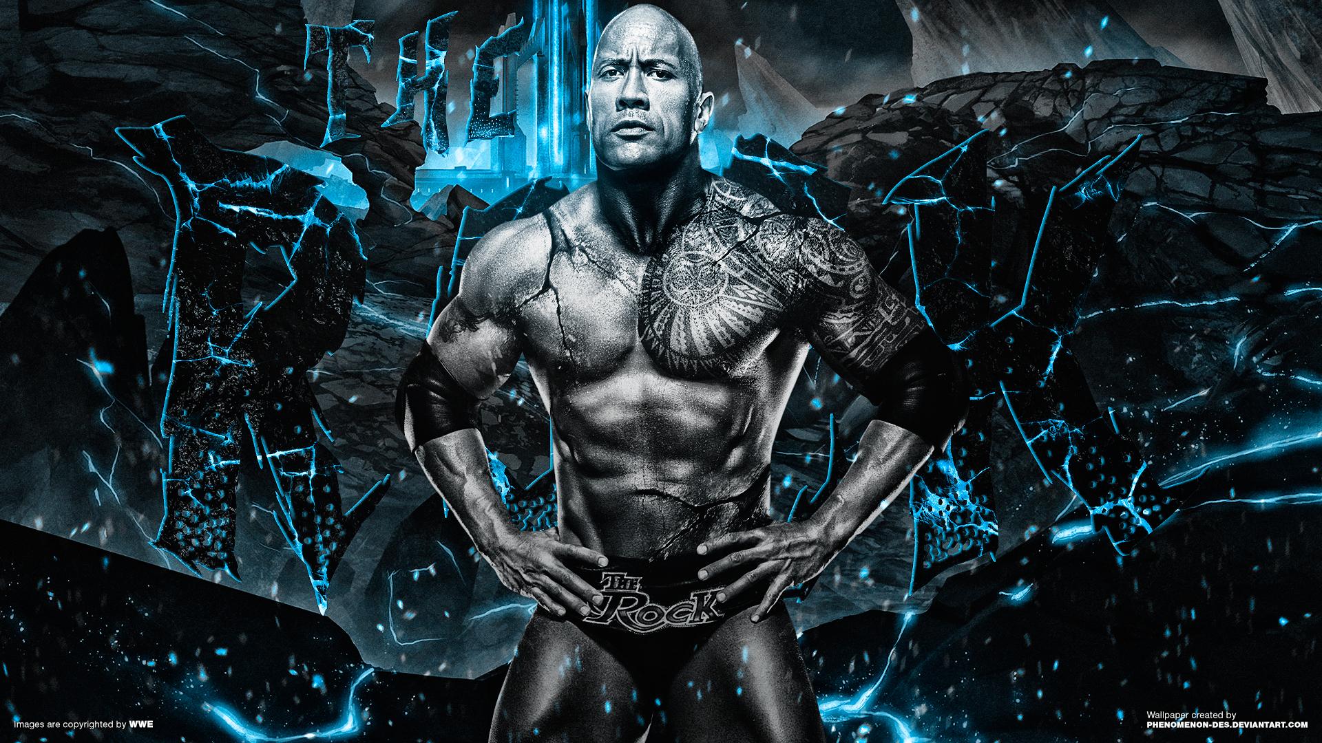 WWE The Rock Wallpaper  WallpaperSafari
