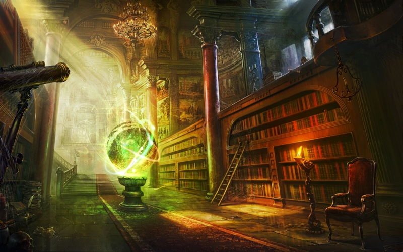 artlibrary library fantasy art books artwork 4000x2500 wallpaper 800x500