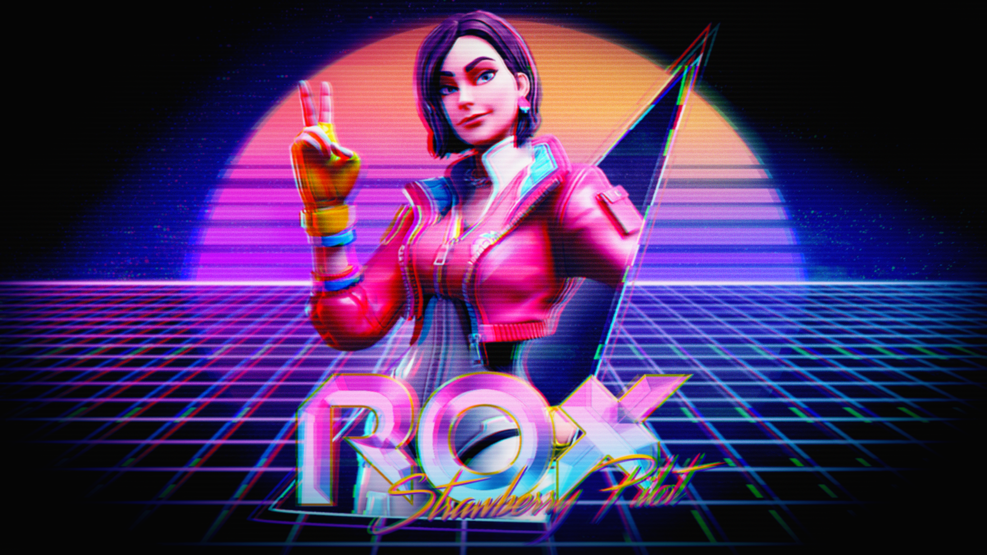 Inspired by the neon theme this season I made this quick wallpaper 1920x1080