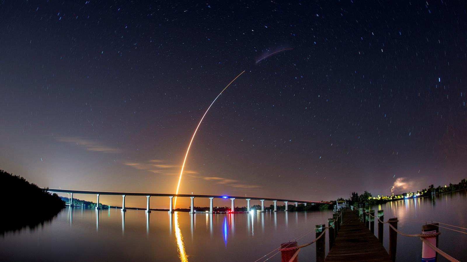 SpaceX launches NASA crew demonstration Quartz 1600x900