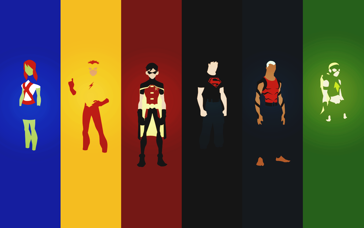 YOUNG JUSTICE 1280x800