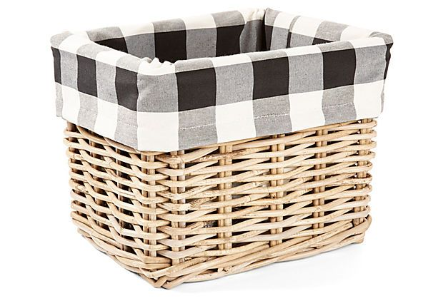 Kitchen Storage Basket Buffalo Check on OneKingsLanecom 620x422