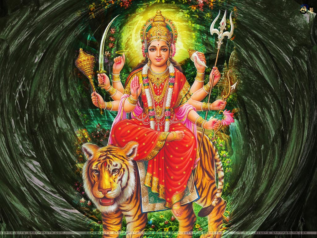 Goddess Durga 1024x768 Wallpaper 35 1024x768