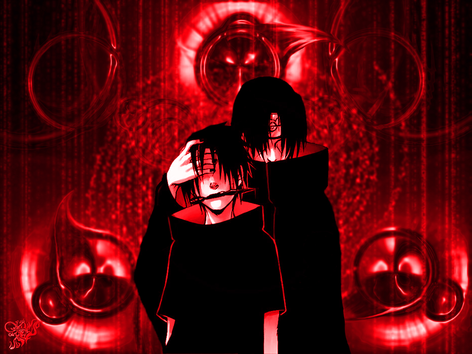 Itachi And Sasuke Wallpaper HD wallpaper   Itachi And Sasuke Wallpaper 1600x1200