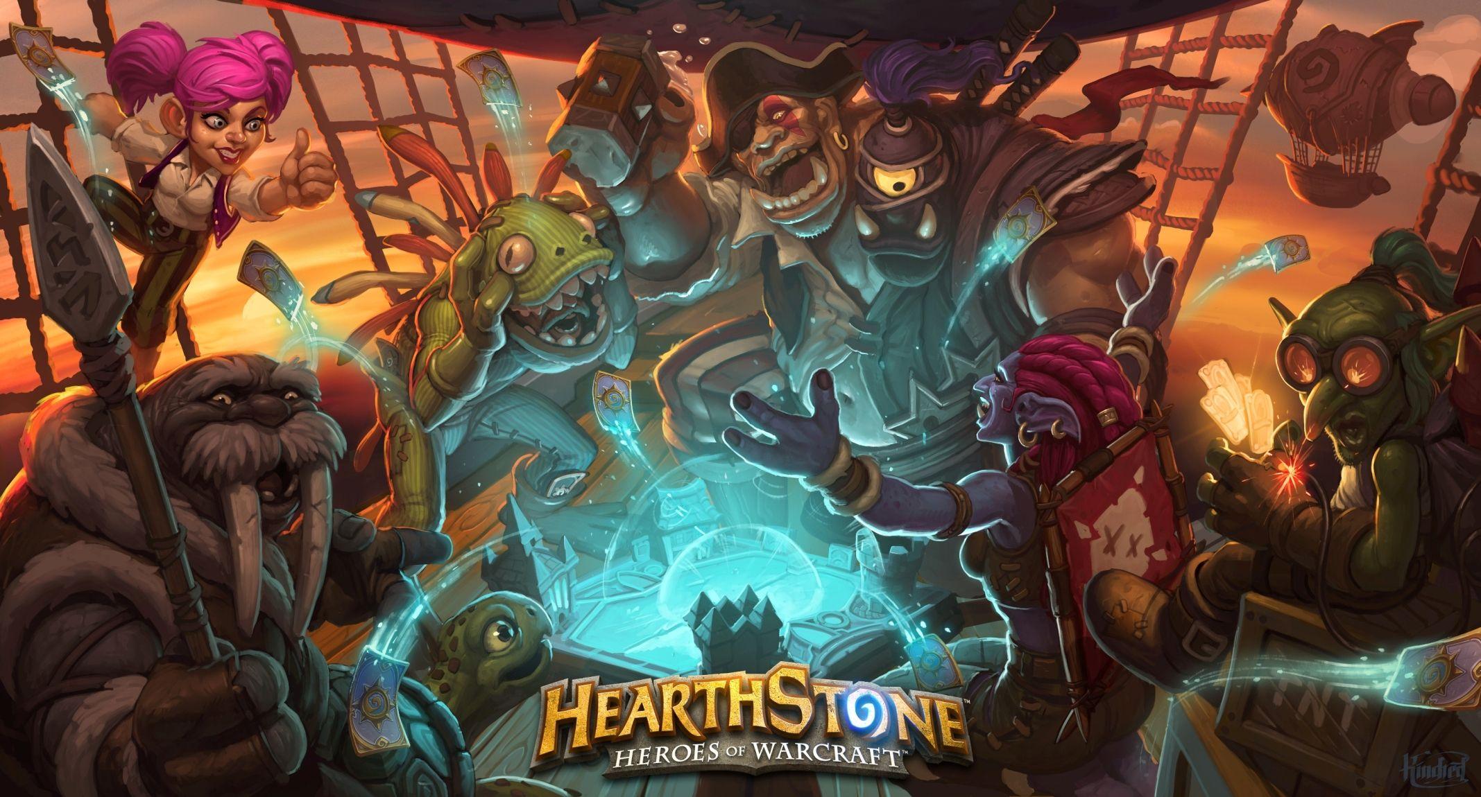 Hearthstone on Mobile Wallpaper Jeu de cartes Deck Jeux 2135x1150