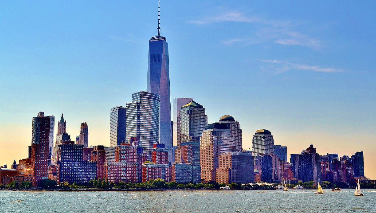 Best NEW YORK SKYLINE For Desktop Wallpapers with NEW YORK 1600x907