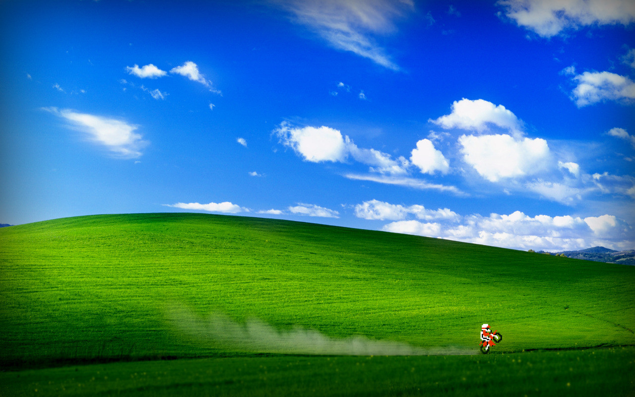 New job advised we can only have generic desktop backgrounds So 1280x800