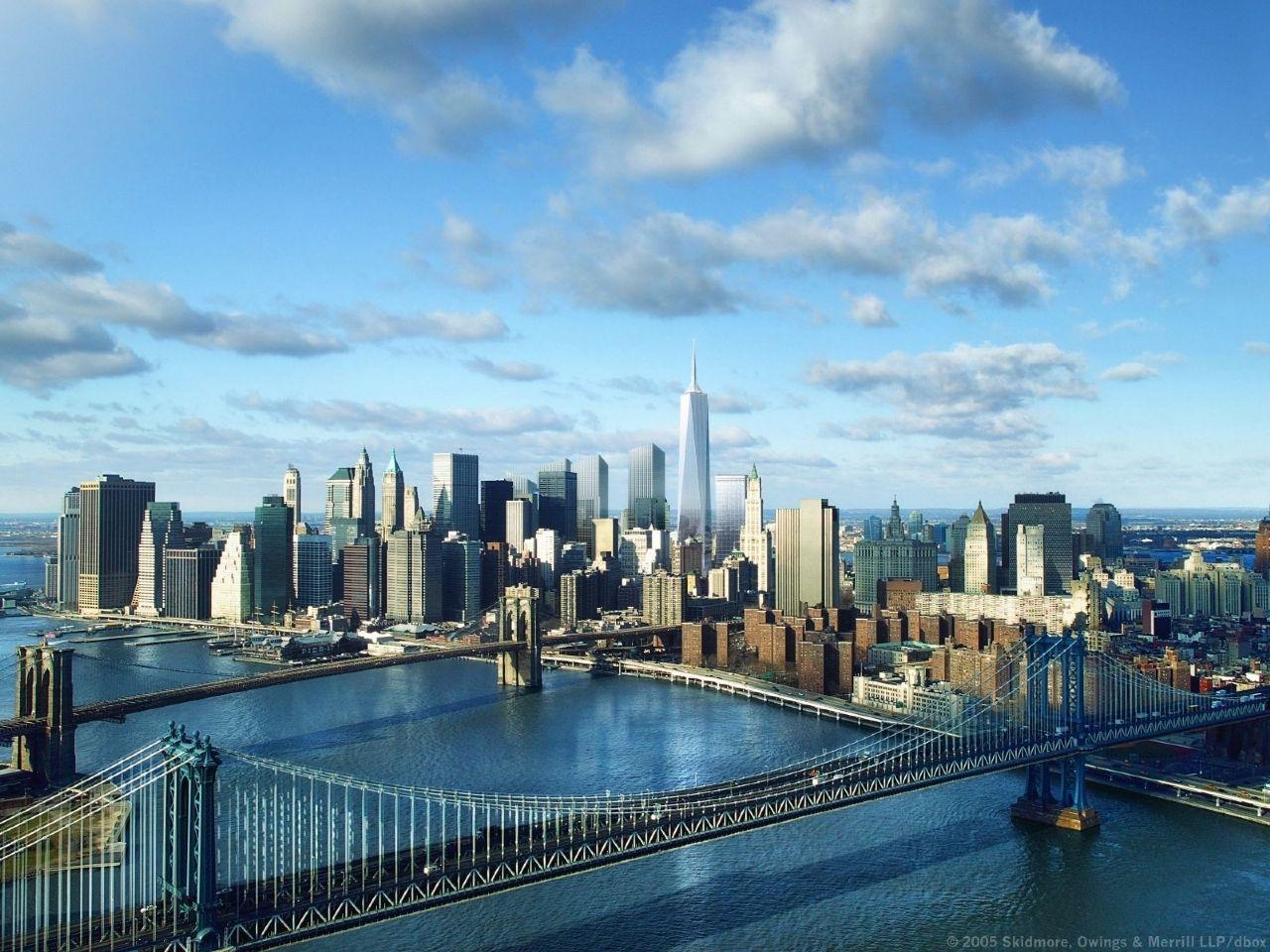 Buildings City Freedom Tower New York desktop wallpaper nr 38542 1280x960